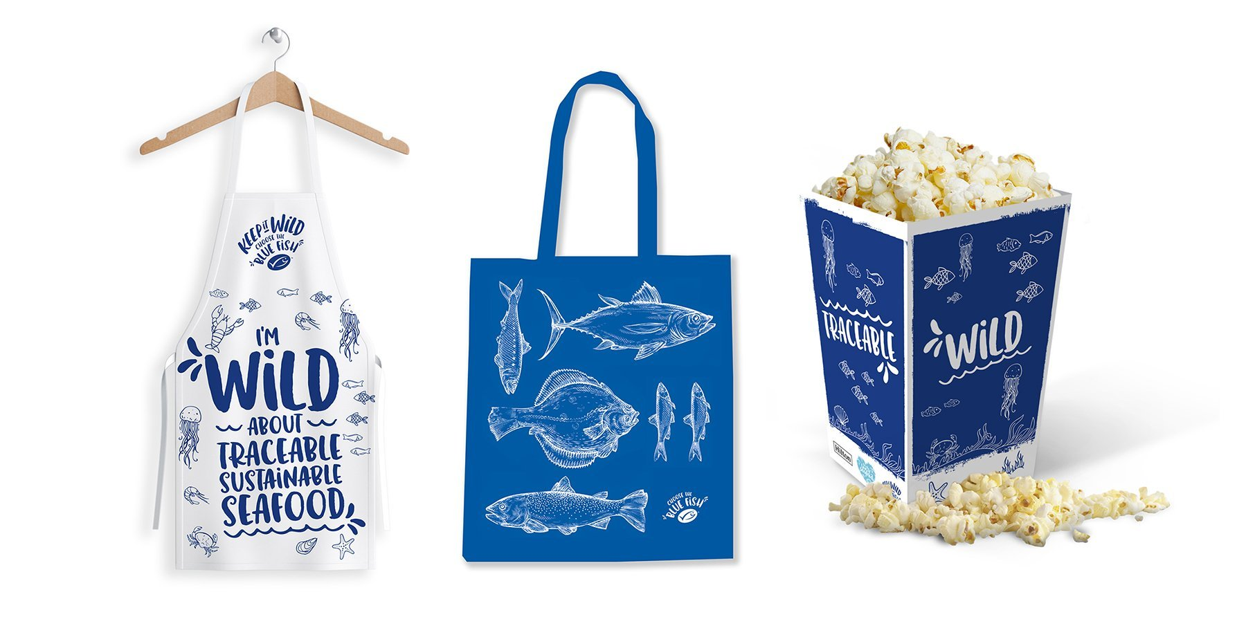 MSC anniversary – Apron, Tote Bag and Popcorn Holder