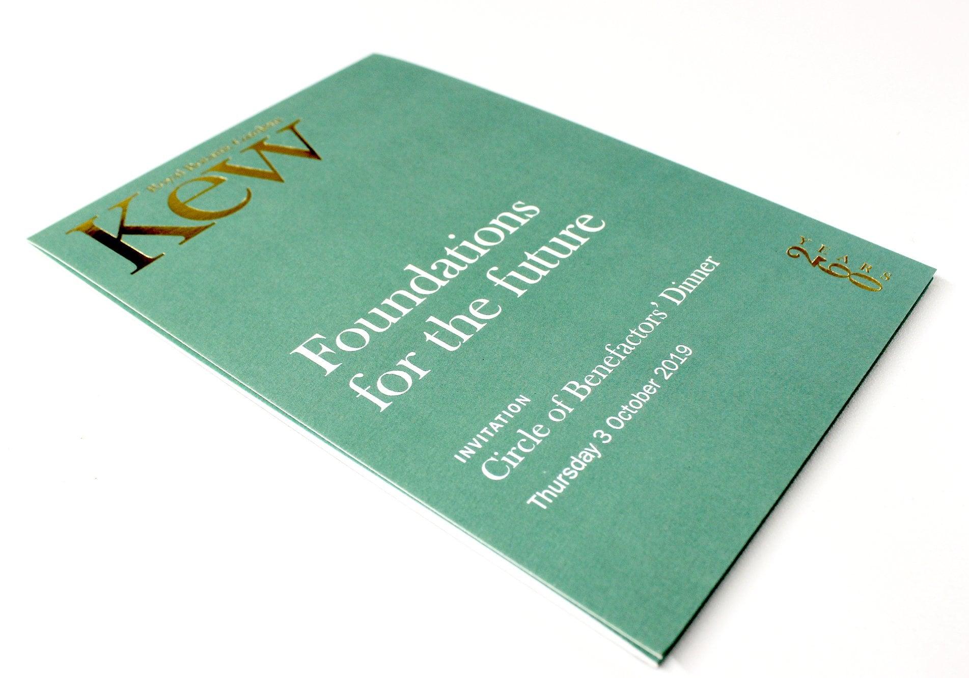 Kew Foundations for the future invitation